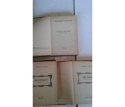 3 ADET BARBARA CARTLAND KİTABI