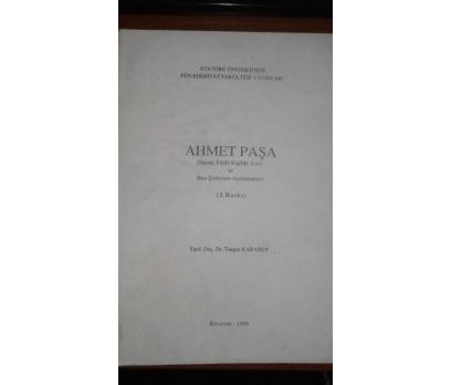 Ahmet Paşa. (Hayatı, edebî kişiliği, eseri ve bazı