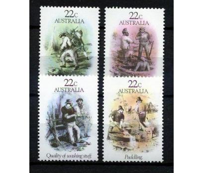 AVUSTRALYA ** 1981 ALTINA HÜCUM DÖNEMİ TAM S(AV-3)