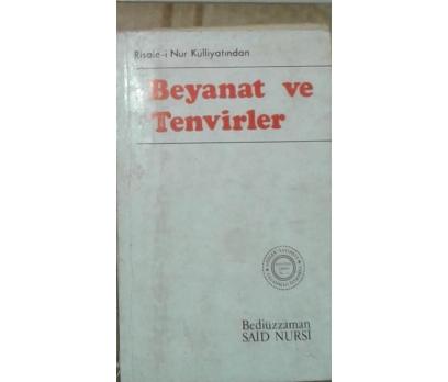 BEYANAT ve TENVİRLER  SAİD NURSİ 1