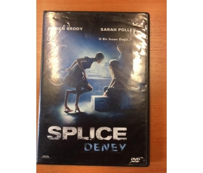 DENEY SPLICE ADRIEN BRODY DVD FİLM 1 2x