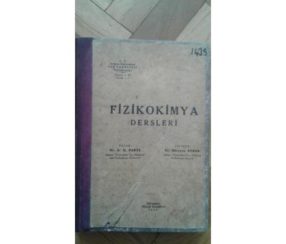 FİZİKOKİMYA DERSLERİ A.G.PARTS