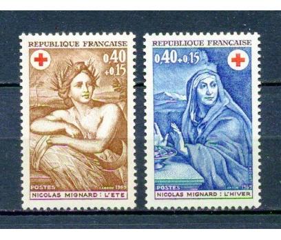 FRANSA ** 1969 CROIX ROUGE TAM SERİ (280315)
