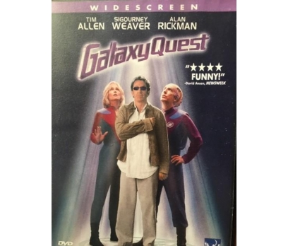 GALAXY QUEST SIGOURNEY WEAVER DVD FİLM 1. BÖLGE