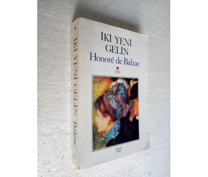 İKİ YENİ GELİN Honore de Balzac CAN YAY.