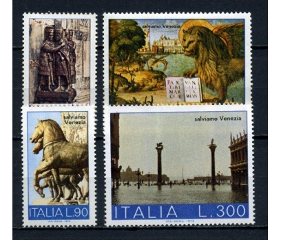 İTALYA ** 1973 UNESCO & VENEDİK TAM SERİ (191015)