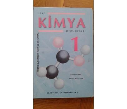 Lise ders kitabı - KİMYA 1 -- ( ciltli ) şinasi va