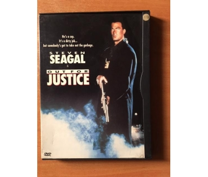 OUT FOR JUSTICE STEVEN SEAGAL NADİR SNAPCASE KUTU