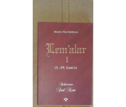 Risale-i Nur Külliyatından: LEM'ALAR 1 (1. - 19. L