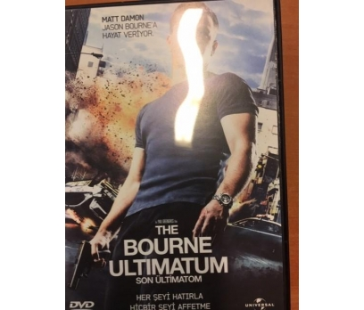 SON ÜLTİMATOM THE BOURNE ULTIMATUM DVD FİLM