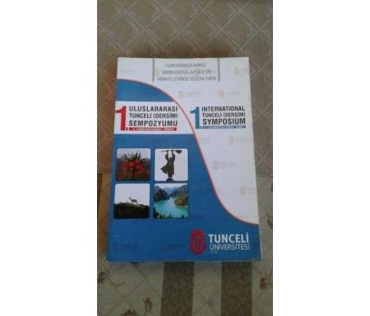 ULUSLARARASI TUNCELİ ( DERSİM ) SEMPOZYUMU 4-6 EKİ