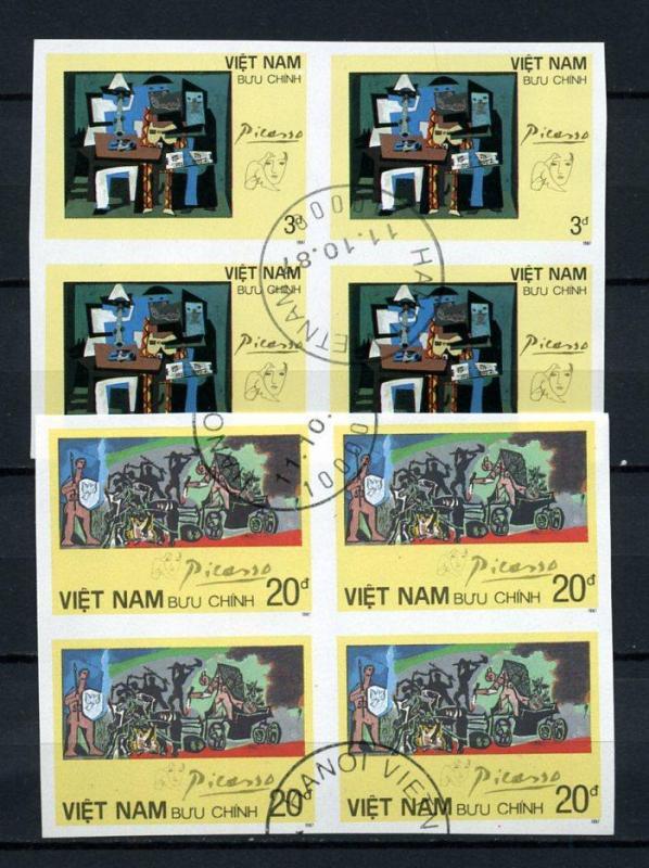VİETNAM İGD 1987 PİCASSO DBL TAM SERİ (101014) 2