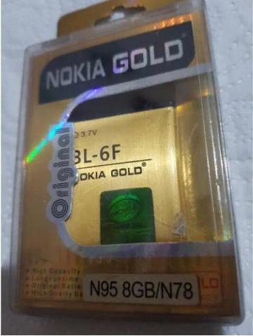 NOKİA BL-6F %100 ORJİNAL GOLD BATARYA +JAPAN 1