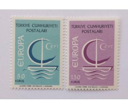 1966 EUROPA-CEPT   TAM SERİ (MNH)