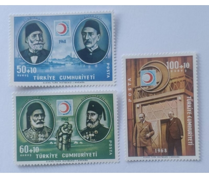 1968 KIZILAY'IN 100. YILI TAM SERİ (MNH)