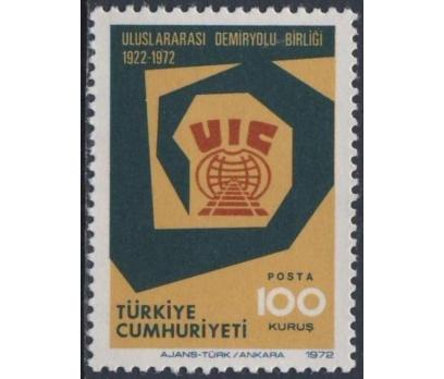 1972 DAMGASIZ  ULUSLARARASI DEMİRYOLU BİRLİĞİ SERİ