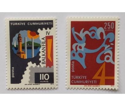 1973 BALKANFİLA IV PUL SERGİSİ TAM SERİ (MNH)