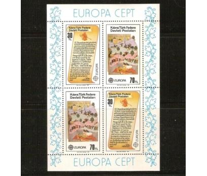 1982  K.K.T.C.  EUROPA-CEPT BLOK  (MNH)