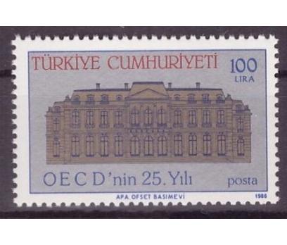 1986 DAMGASIZ OECD?NİN 25. YILI SERİSİ