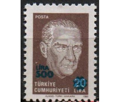 1989 DAMGASIZ ATATÜRK PORTRELİ SÜRSARJLI ( 500 LİR