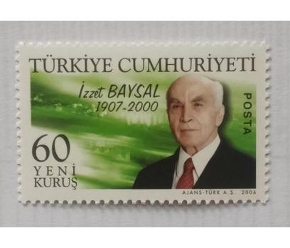 2006 İZZET BAYSAL TAM SERİ (MNH)