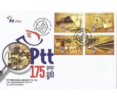 2015 PTT'NİN KURULUŞUNUN 175. YILI İLKGÜNZARFI