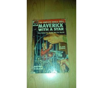 ACE DOUBLE NOVEL BOOKS: 14 MAVERICK WITH A STAR