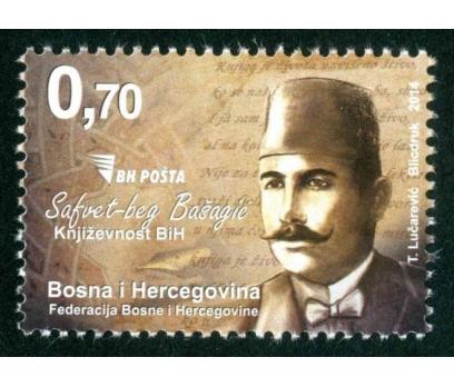BOSNA HERSEK 2014 DAMGASIZ SAFFET BEG BASAGİÇ SERİ