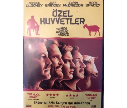 ÖZEL KUVVETLER THE MEN WHO STARE AT GOATS 1 DVD Fİ