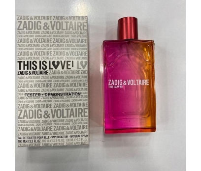 TESTER ZADİG & VOLTAİRE THİS İS LOVE ELLE EDP 100