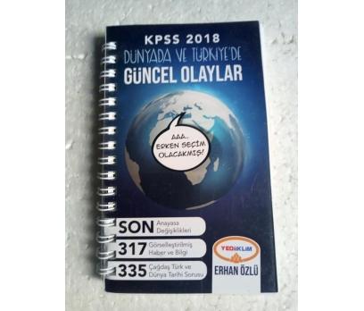 YEDİİKLİM KPSS 2018 DÜNYA VE TÜRKİYE'DE Erhan Özlü