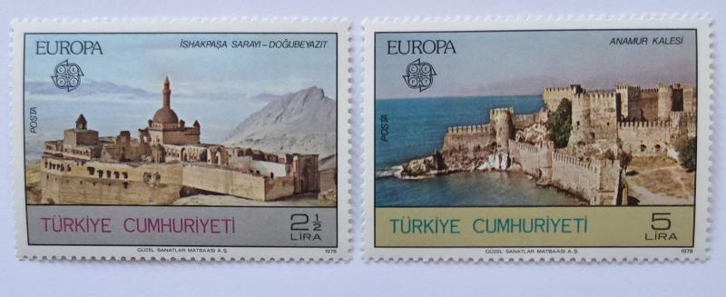 1978 EUROPA-CEPT  TAM SERİ  (MNH) 1