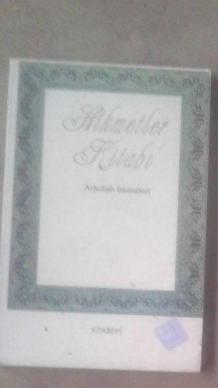 HİKMETLER KİTABI ATAULLAH İSKENDERİ 1