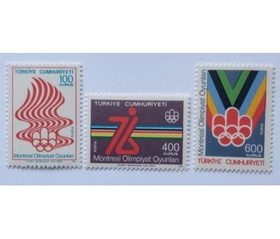 1976 MONTREAL OLİMPİYATLARI TAM SERİ  (MNH)