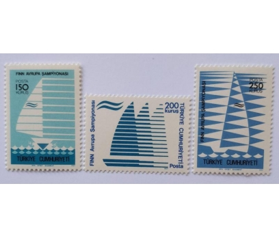 1977 FINN AV. ŞAMPİYONASI TAM SERİ  (MNH)