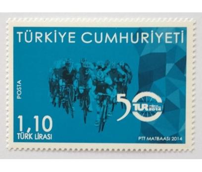 2014 50. CUMH. BİSİKLET TURU TAM SERİ  (MNH)