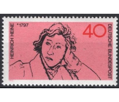ALMANYA (BATI) 1972 DAMGASIZ HEİNRİCH HEİNE SERİSİ