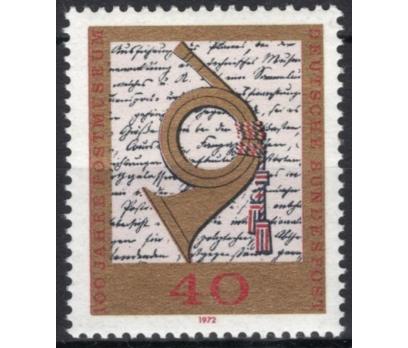 ALMANYA (BATI) 1972 DAMGASIZ POSTA MÜZESİ SERİSİ