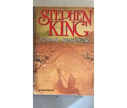 AZRAİL KOŞUYOR STEPHEN KING