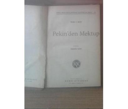 PEKİN'DEN MEKTUP PEARL S. BUCK