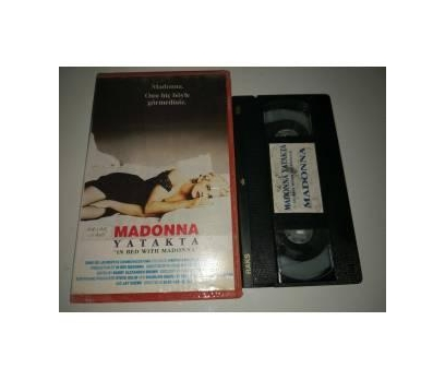 VHS - Madonna Yatakta - In Bed With Madonna