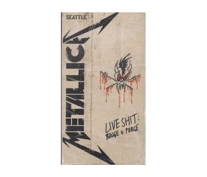VHS - Metallica Live Shit Binge & Purge Seattle