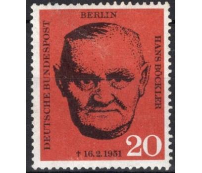 ALMANYA (BERLİN) 1961 DAMGASIZ TİCARET BİRLİĞİ LİD