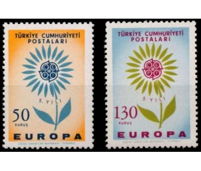 1964  DAMGASIZ AVRUPA CEPT SERİSİ