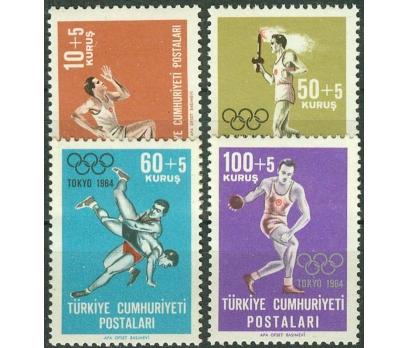 1964 DAMGASIZ TOKYO YAZ OLİMPİYAT OYUNLARI SERİSİ