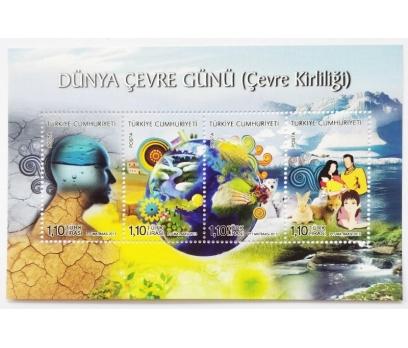 2013 D.Ç.G. ÇEVRE KİRLİLİĞİ  BLOK-113 (MNH)