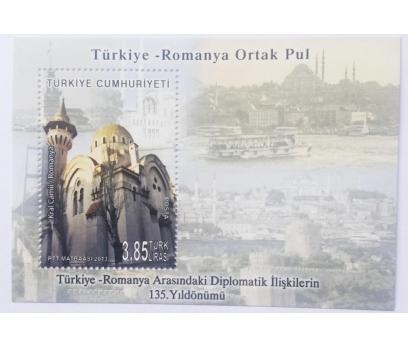 2013 TÜRKİYE-ROMANYA ORTAK  BLOK-117 (MNH)