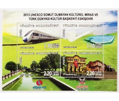 2013 UNESCO KÜLTÜREL MİRAS BLOK-107 (MNH)