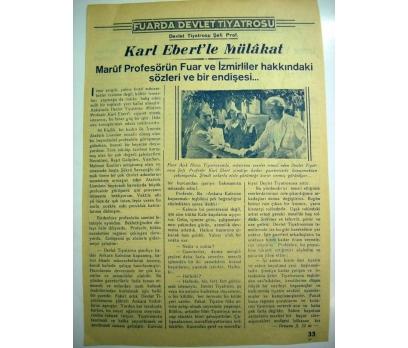 D&K--1944 İZMİR FUARI-DEVLET TİYATROSU FUARDA