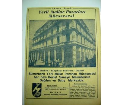 D&K--1944 İZMİR FUARI-SÜMERBANK